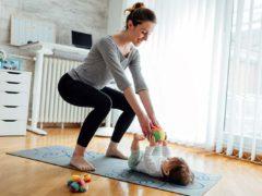 A pilates con mamma!